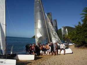 Mission beach - Great fun regatta and Nacra's win as well.